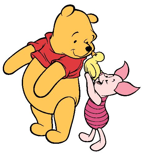 Winnie The Pooh And Friends Clipart