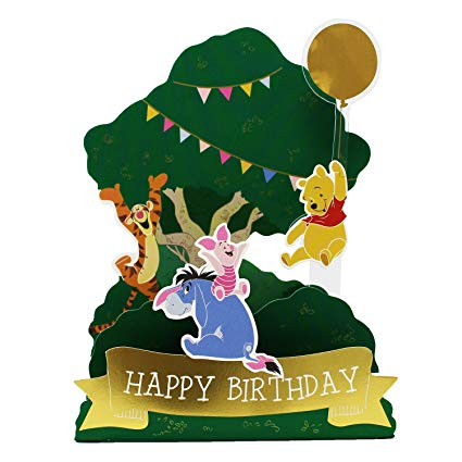 Winnie The Pooh Birthday Clipart