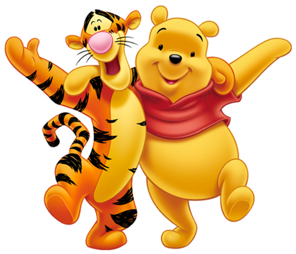 600x515 Transparent Winnie The Pooh And Tigger Png Clipartu200b Gallery
