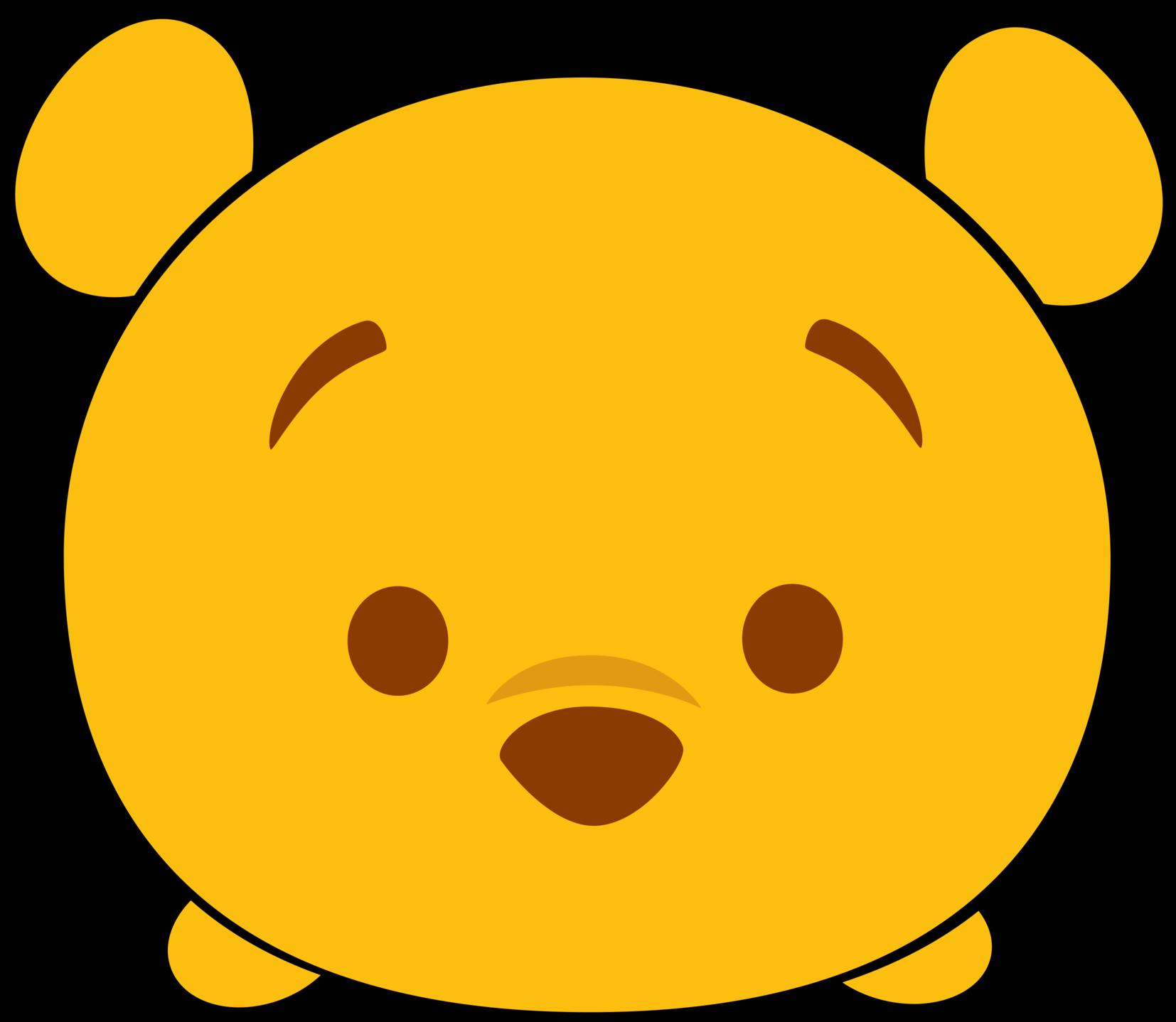1654x1438 Disney Tsum Tsum Clipart Winnie The Pooh