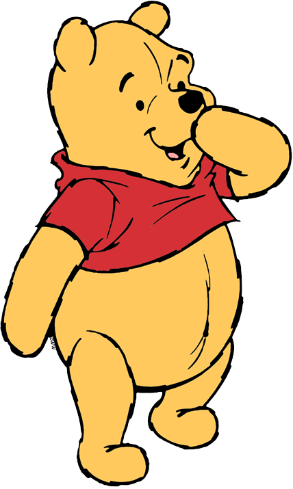 428x715 Winnie The Pooh Clip Art Disney Clip Art Galore