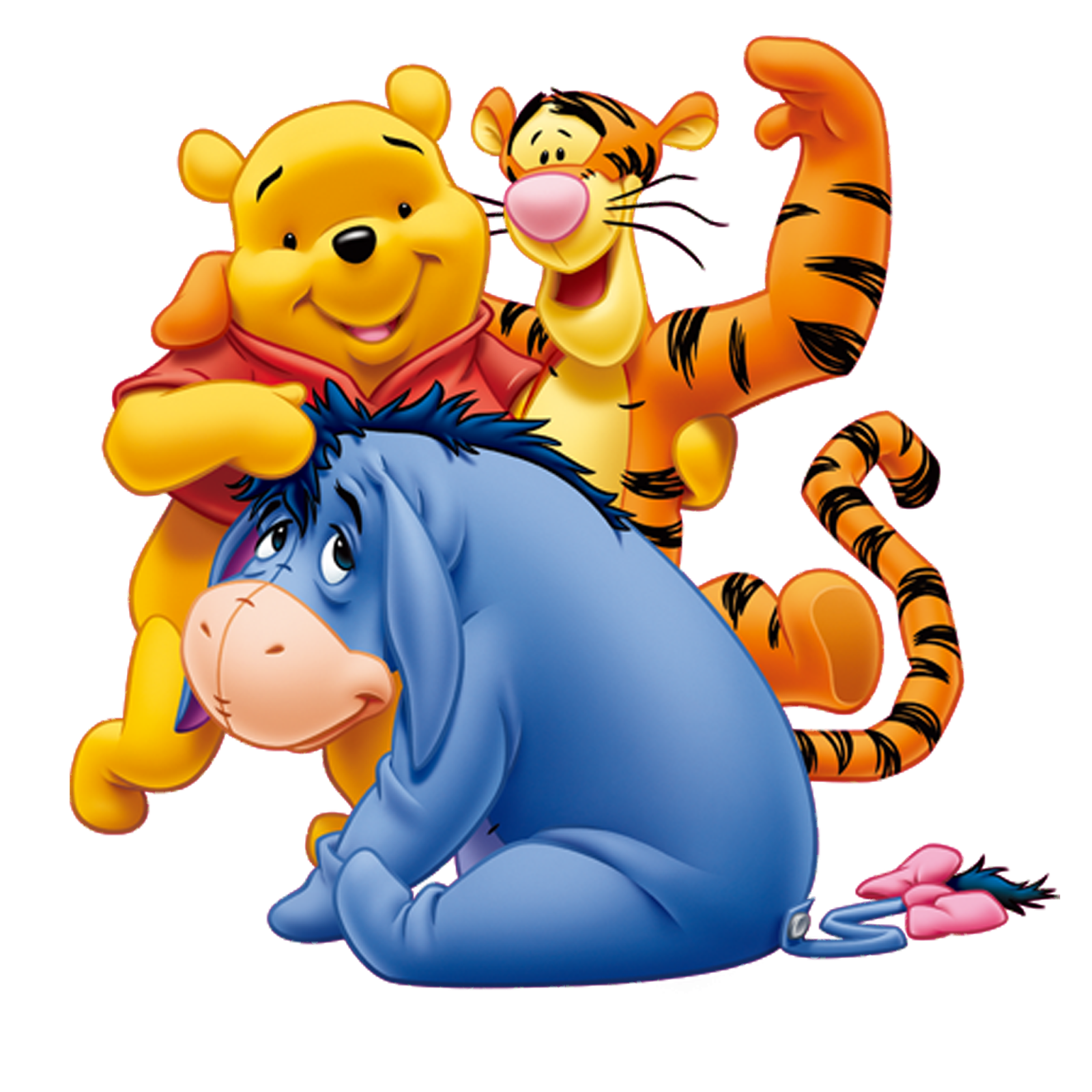 Winnie The Pooh Characters Clipart at GetDrawings | Free ...