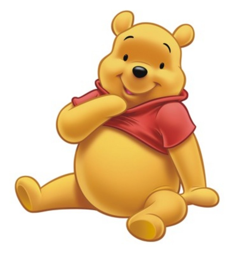 800x856 Baby Winnie The Pooh Characters Clipart