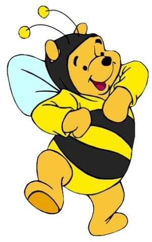 300x479 Bumblebee Clipart Winnie The Pooh