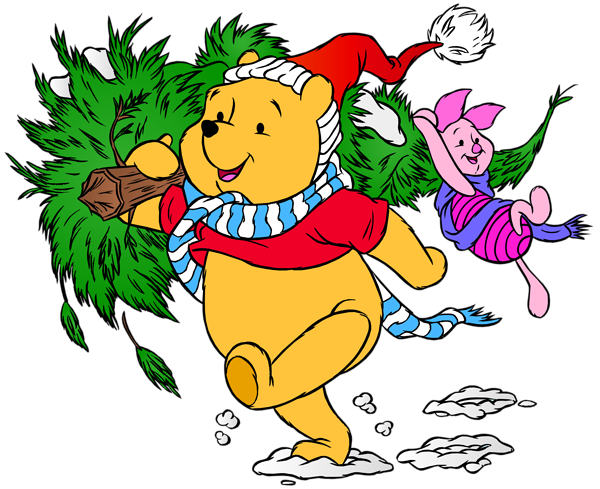 600x489 Winnie The Pooh And Piglet Christmas Png Clip Art Imageu200b Gallery