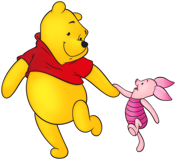 600x547 Winnie The Pooh And Piglet Free Png Clip Art Imageu200b Gallery