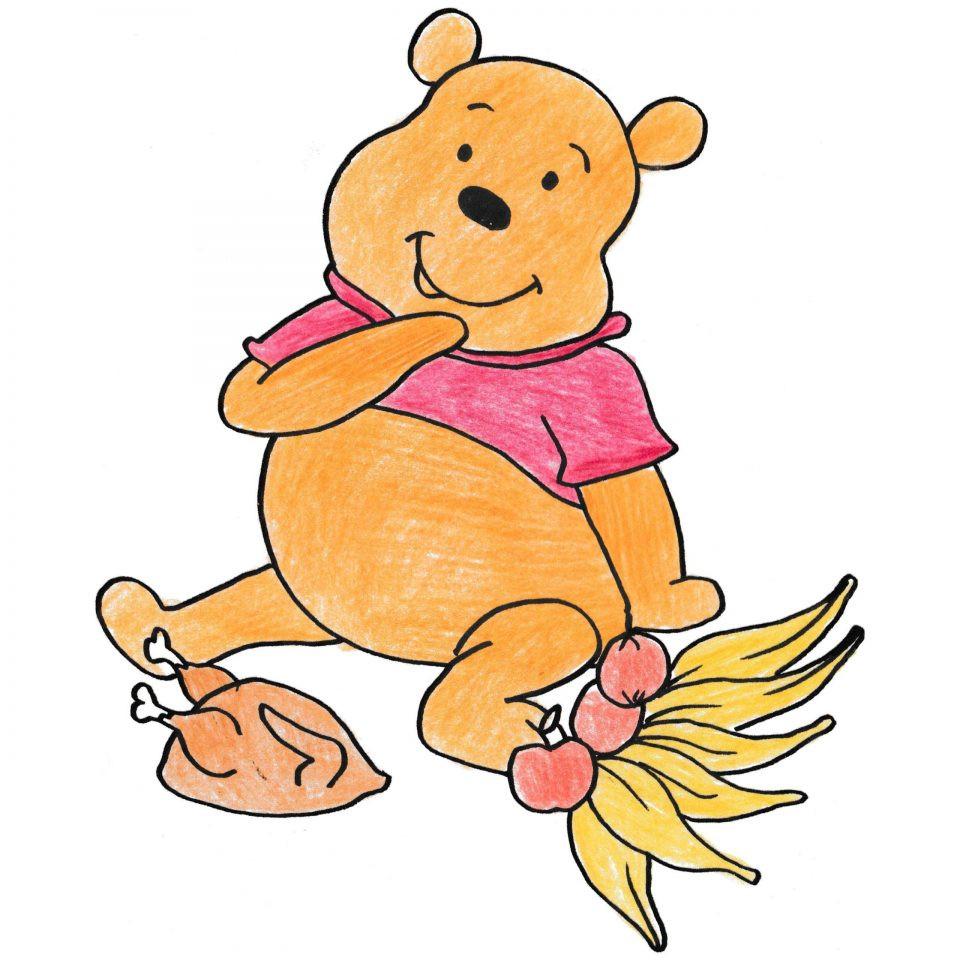 960x960 Winnie The Pooh Thanksgiving Clip Art