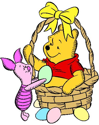 Winnie The Pooh Easter Clipart
