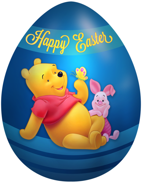 465x600 Kids Easter Egg Winnie The Pooh And Piglet Png Clip Art Image