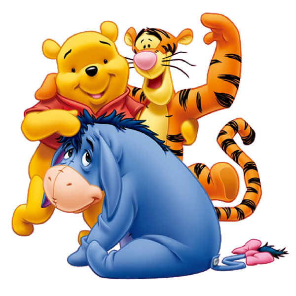 600x600 Pooh And Friends