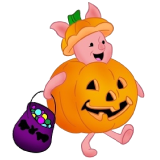 320x320 Collection Of Winnie The Pooh Halloween Clipart High Quality