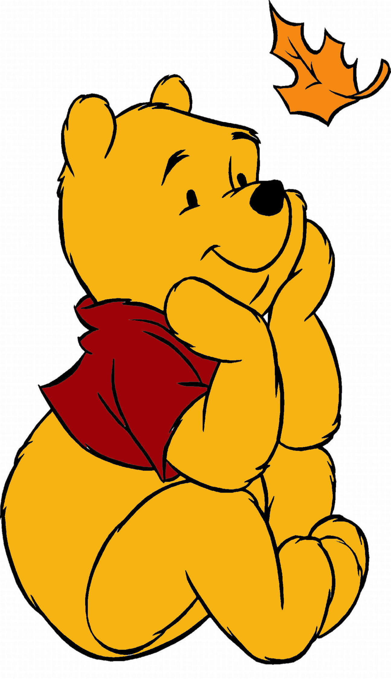 Winnie The Pooh Fall Clipart at GetDrawings | Free download