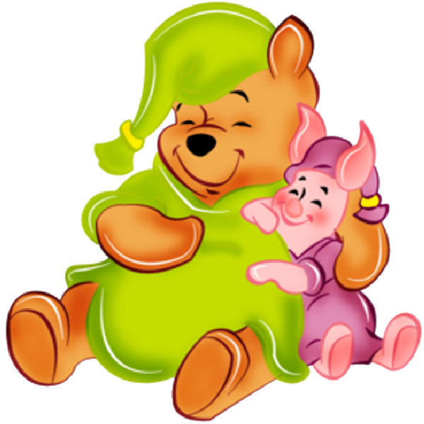 600x600 Pooh And Piglet