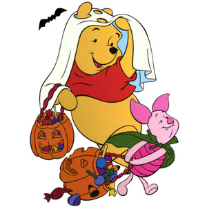 300x300 Collection Of Winnie The Pooh Halloween Clipart High Quality