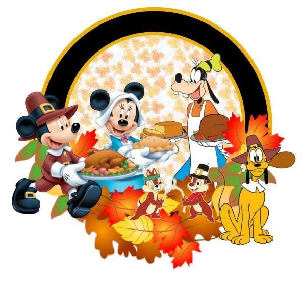 592x600 Disney Thanksgiving Clipart Free Amp Disney Thanksgiving Clip Art