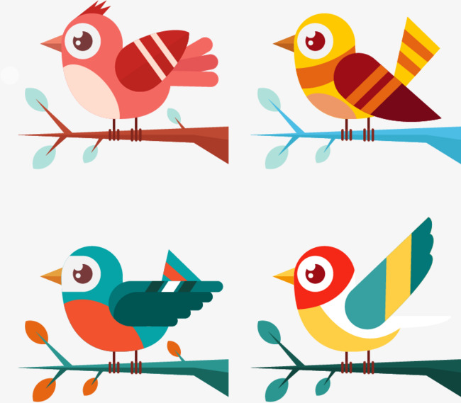 650x569 Graphics Of Birds Group