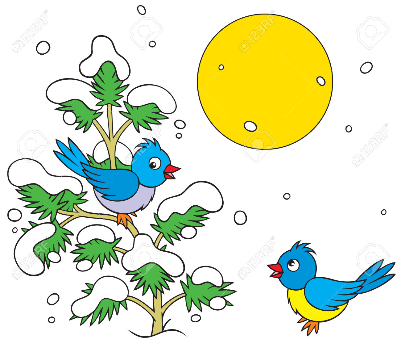 1300x1114 Bird Clipart Winter