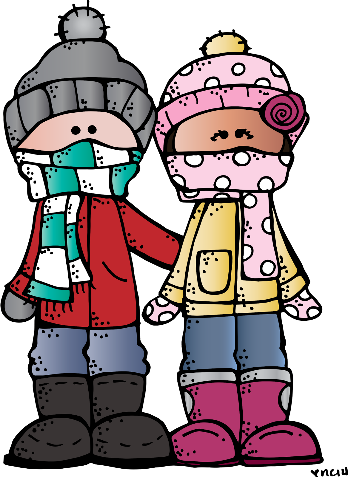 1166x1600 Melonheadz Illustrating Happy Winter! ) Printables, Clip Art