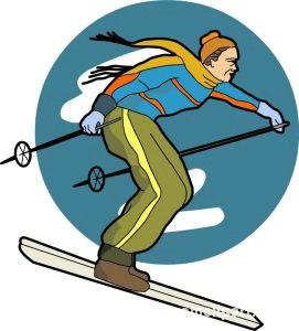271x300 Winter Sports Clipart