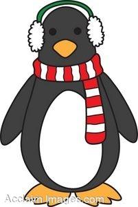 201x300 Cute Penguin Clip Art Clipart Panda
