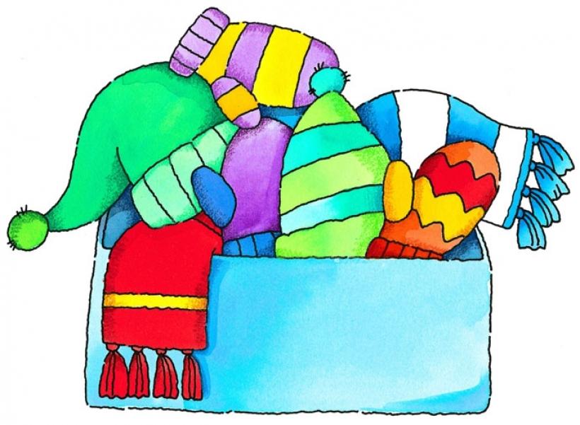 820x601 Warm Clothes Clipart