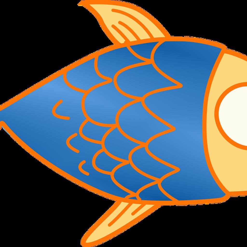 1024x1024 Fish Clip Art Winter Clipart