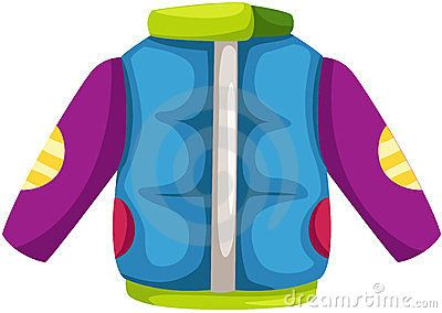 400x284 Nice Winter Coat Clipart