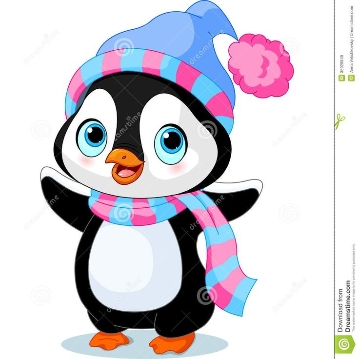 736x736 Penguins Clipart