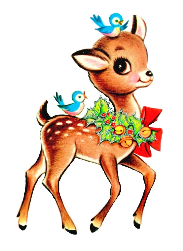 736x1009 Holiday Clipart Animal 3612107