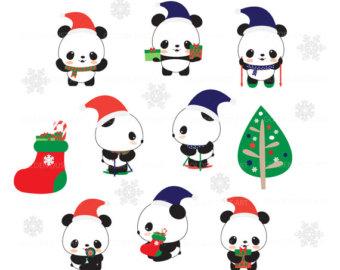 340x270 Panda Party Clip Art Amp Printables Set Ca051 Clipart Panda Wall