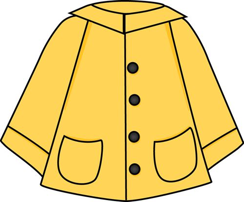 Winter Jacket Clipart