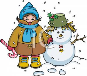 300x263 Winter Cloth Clipart
