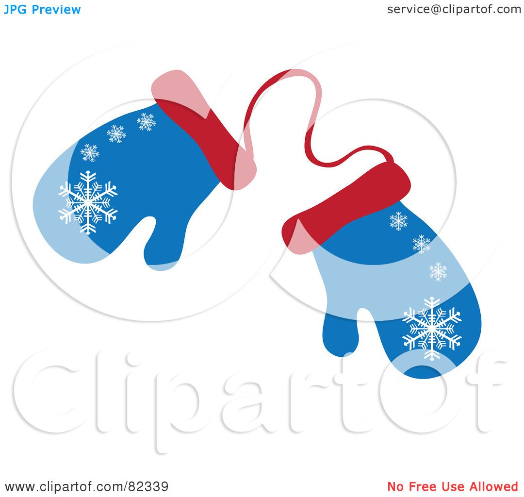 1080x1024 Royalty Free (Rf) Clipart Illustration Of A Pair Of Blue And Red