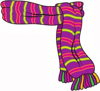 319x292 Scarves Clipart