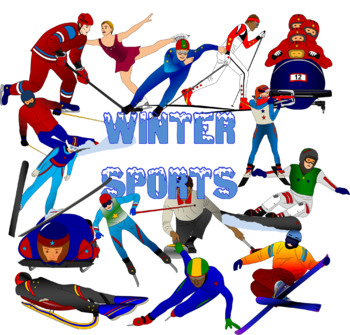 350x335 Winter Games Clip Art Bundle Olympics By Learning Lane Resources