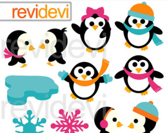 340x270 Vintage Penguin Clipart Svg Illustration Clip Art Digital