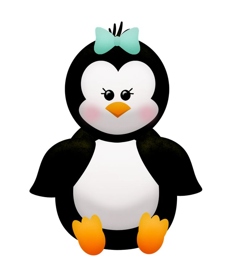 736x910 Christmas Penguin Clipart Group