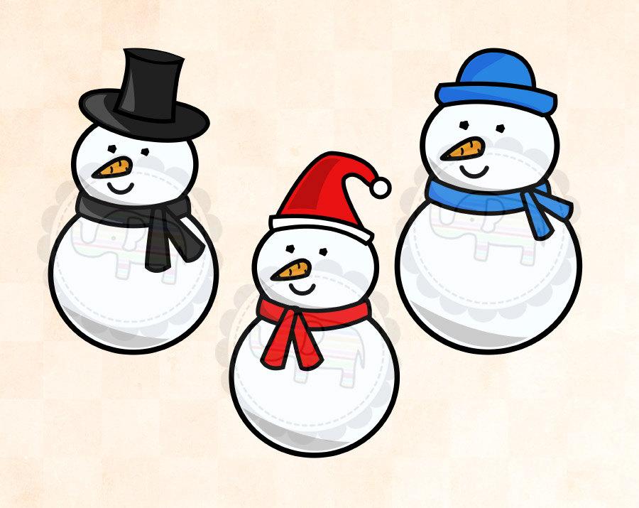 900x715 Best Snowman Clipart
