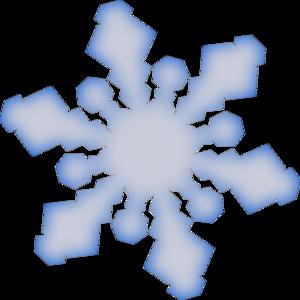 300x300 Winter Snowflake Clip Art