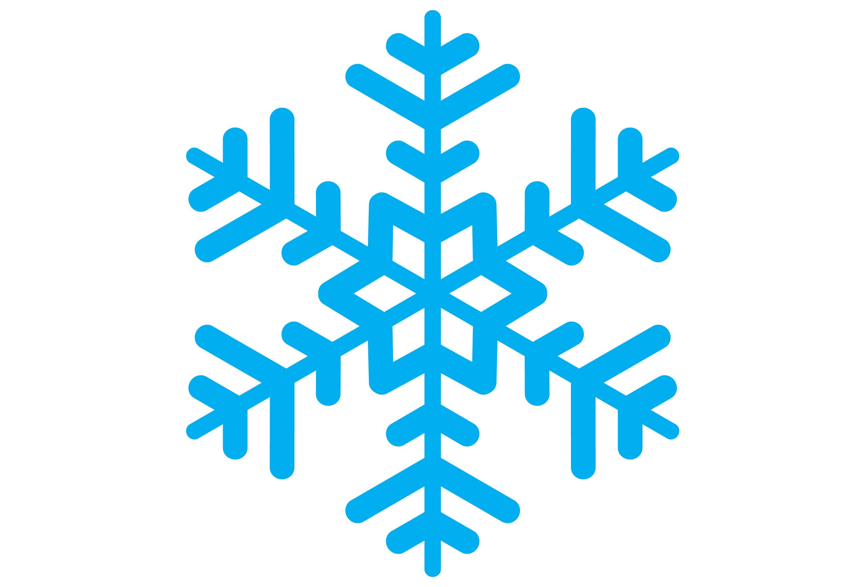 2800x1900 Clipart Snowflake