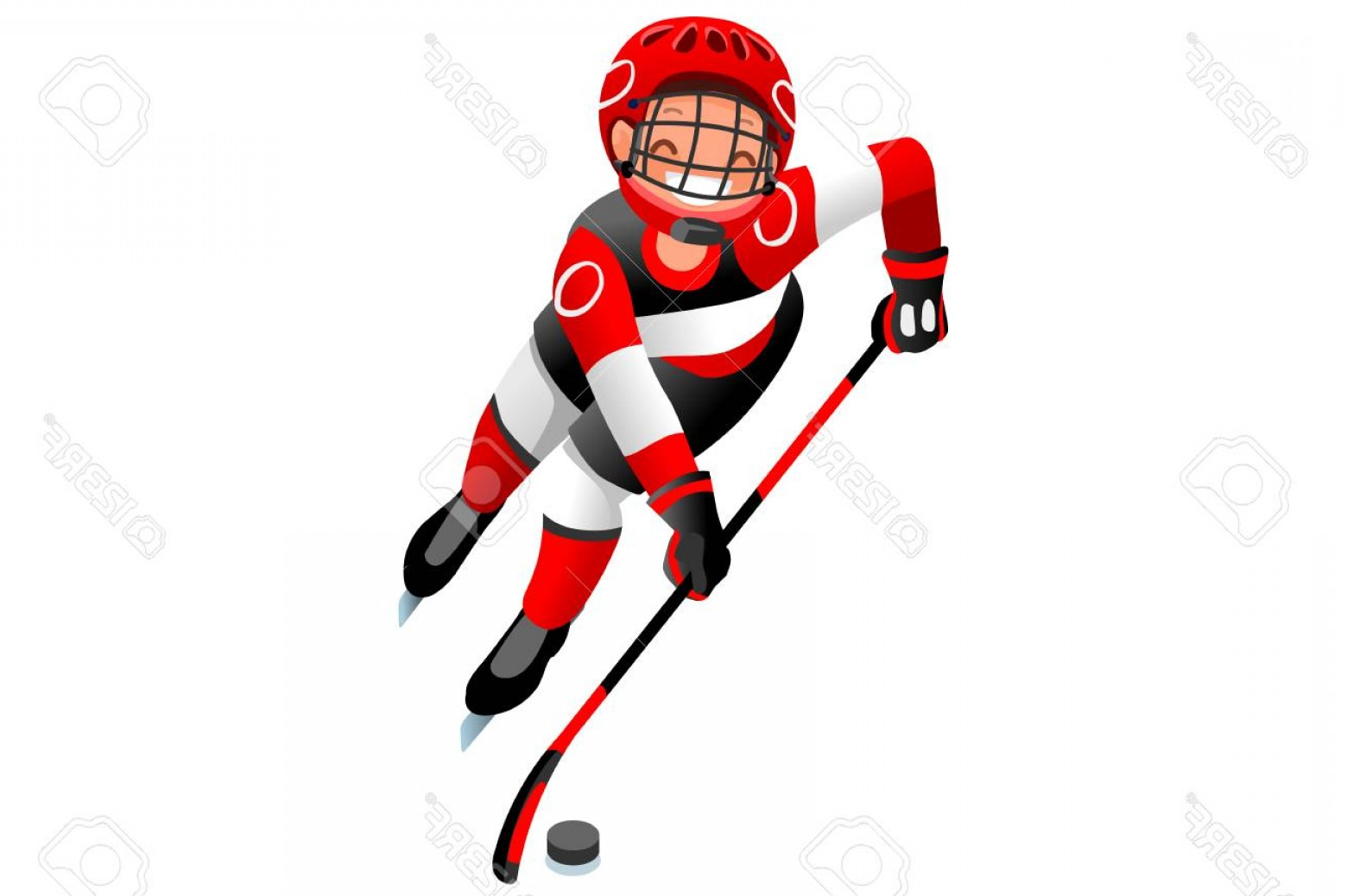 1560x1038 Photostock Vector Ice Hockey Vector Cartoon Clipart Winter Sports