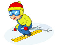 195x154 Ski Sport Clipart