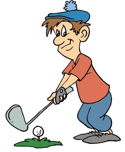 494x599 Winter Clipart Golfer