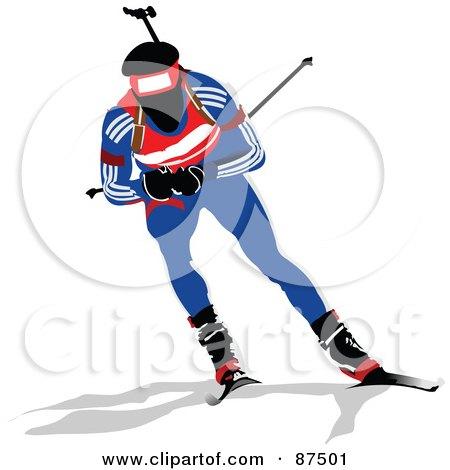450x470 Clipart Winter Sports
