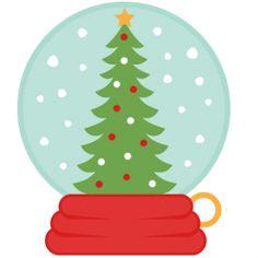 236x236 Christmas Snow Globe Clip Art Clip Art