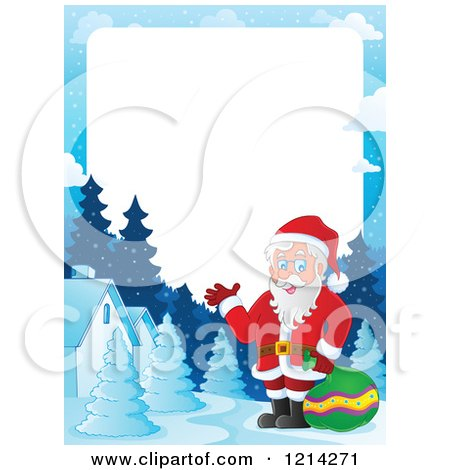 450x470 Royalty Free Christmas Border Illustrations By Visekart Page 1