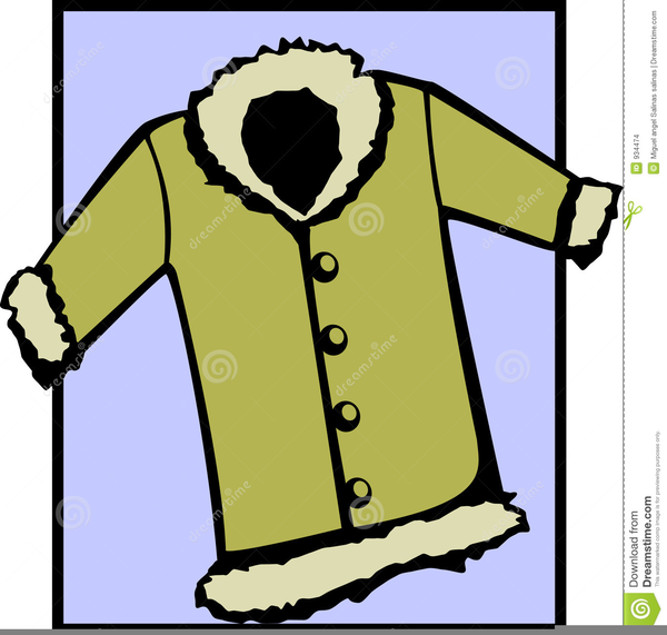 600x571 Winter Jacket Clipart Free Images