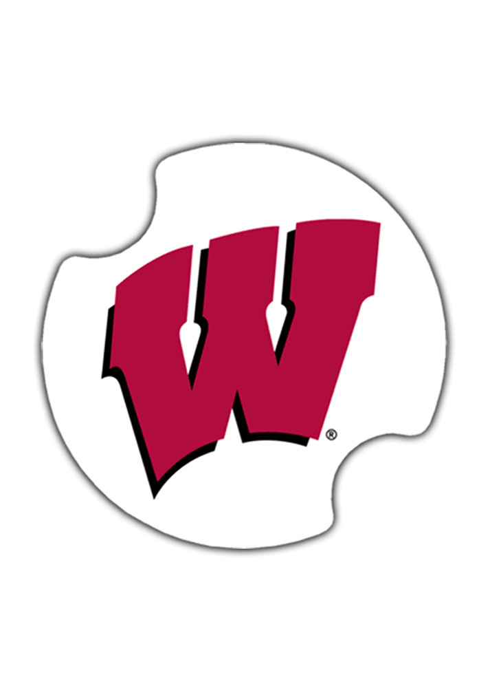 700x1000 Wisconsin Badgers 2 Pack Auto Car Coaster