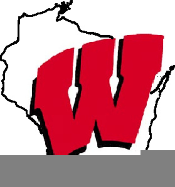 560x600 Badger Clipart Wisconsin Free Images