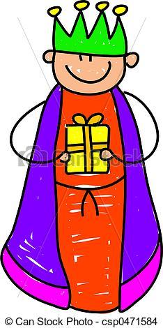 234x470 King Kid. Happy Little Boy Dressed Up As One Of The Wisemen